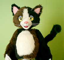 Cat by The Lyon Puppets