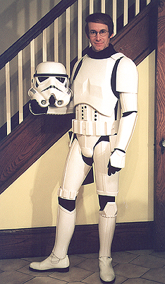 Rick Lyon stormtrooper without helmet