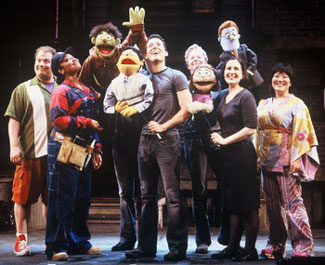 The cast of AVENUE Q