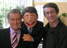 Regis, Mini-Regis, and Rick Lyon